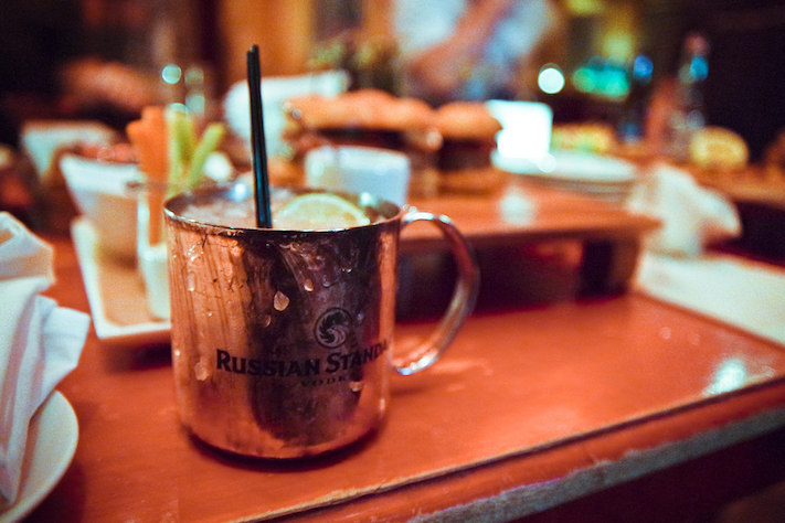 il cocktail moskow mule