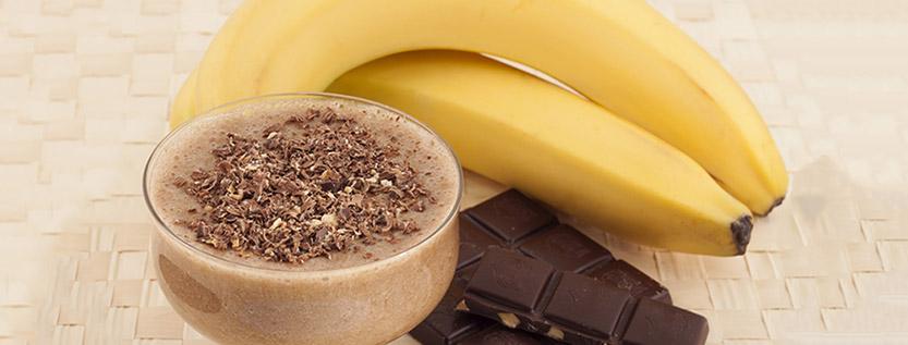 Frappè cioccolato e banane - Ricetta dietetica bimby
